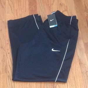 Nike Dri-Fit Black Performance Pants -NWT